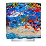 Easter In Cuba Shower Curtain