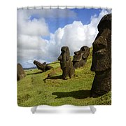 Easter Island 1 Shower Curtain