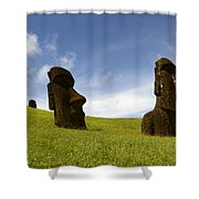 Easter Island 10 Shower Curtain