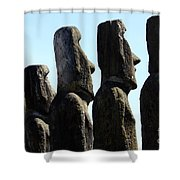 Easter Island 11 Shower Curtain