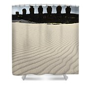 Easter Island 8 Shower Curtain