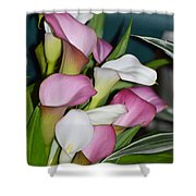 Easter Lilies Shower Curtain