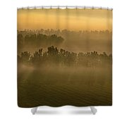 Easter Morning Shower Curtain