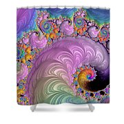 Easter Parade Shower Curtain