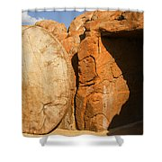 Easter Tomb Groom Texas Shower Curtain