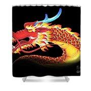 Eastern Dragon Shower Curtain