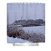 Eastern Neck Island Shower Curtain
