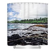 Eastern Shore Of Maui Shower Curtain