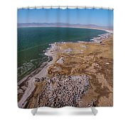 Eastern Side Of Mono Lake Shower Curtain