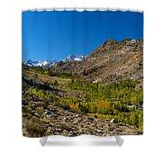 Eastern Sierras 11 Shower Curtain