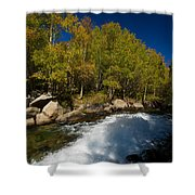 Eastern Sierras 15 Shower Curtain