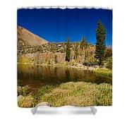 Eastern Sierras 18 Shower Curtain