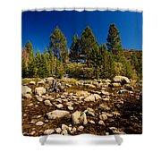 Eastern Sierras 21 Shower Curtain