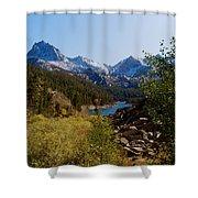 Eastern Sierras 23 Shower Curtain