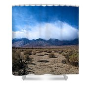 Eastern Sierras 3 Shower Curtain