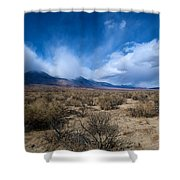 Eastern Sierras 4 Shower Curtain