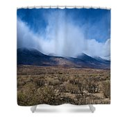 Eastern Sierras 6 Shower Curtain