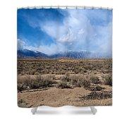 Eastern Sierras 8 Shower Curtain