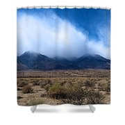 Eastern Sierras Shower Curtain