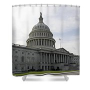 Eastern Site Of The Capitol Washington Dc Shower Curtain