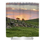 Eastern Skies At Sunset Shower Curtain