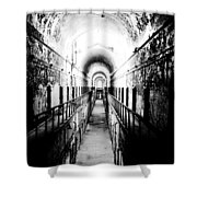 Eastern State Pen Hall Shower Curtain
