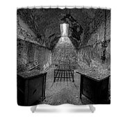 Eastern State Penitentiary Bw Shower Curtain