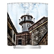 Eastern State Penitentiary Guard Tower Shower Curtain