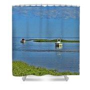 Eastham Shoreline Shower Curtain