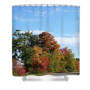 Eastman Lake Trail Shower Curtain