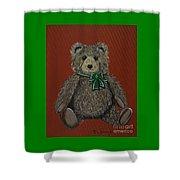 Easton's Teddy Shower Curtain