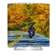 Easy Rider Shower Curtain