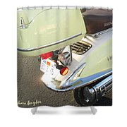 Easy Rider Or Not A Harley 2 Shower Curtain