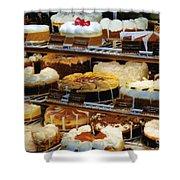 Eat Cake Shower Curtain