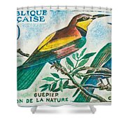 Eater Conservation Camargue Shower Curtain