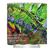 Ecclesiastes 9 1 Shower Curtain