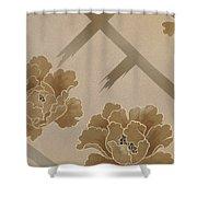 Echigo Dojouji Crop I Shower Curtain