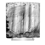 Echo Canyon Bw Shower Curtain