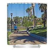 Echo Park Los Angeles Shower Curtain