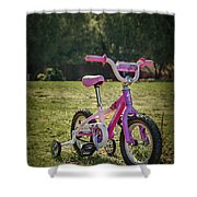Echoes Of Childhood Shower Curtain