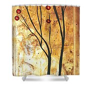 Eclectic Dream Original Painting Madart Shower Curtain