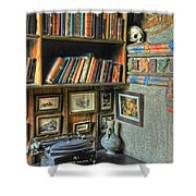 Eclectic Office Shower Curtain