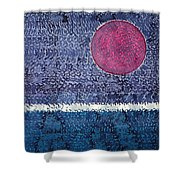 Eclipse Original Painting Shower Curtain