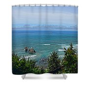 Ecola State Park Shower Curtain