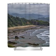 Ecola View Shower Curtain