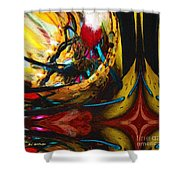 Ecstasy In Leather And Pearl Shower Curtain