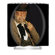 Edgar Buchanan Old Tucson Arizona 1971-2009 Shower Curtain