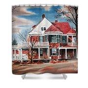 Edgar Home Shower Curtain by Kip DeVore