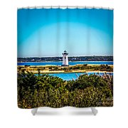 Edgartown Lighthouse Shower Curtain