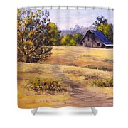Edge Of Autumn Shower Curtain